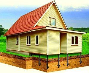 Пристройка к деревянному дому