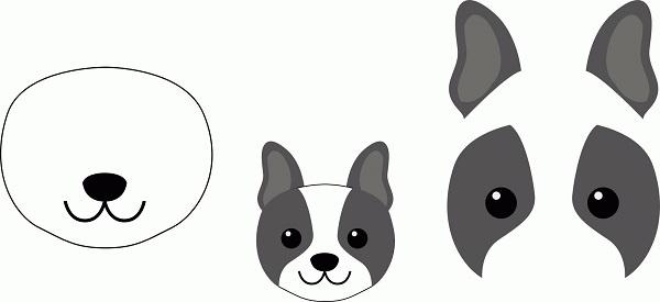 Шаблоны для изготовления собаки
