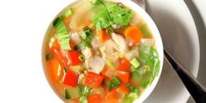 Суп с добавлением капусты и сельдерея