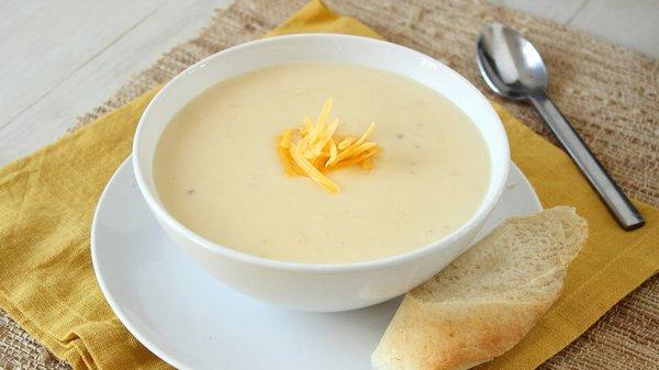 Вкусный крем-суп