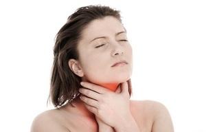 Боль в горле