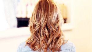 Красивый цвет волос после окрашивания