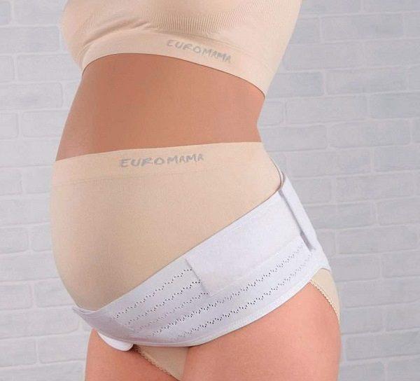 Euromama пояс-корсет для беременных универсальный