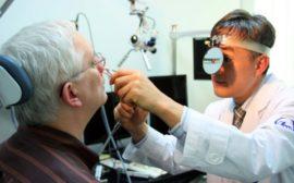 Диагностика фарингита у врача