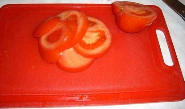 Нарезка помидоров