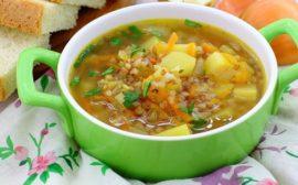 Суп с гречкой