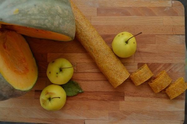 Тыквенно-яблочная пастила