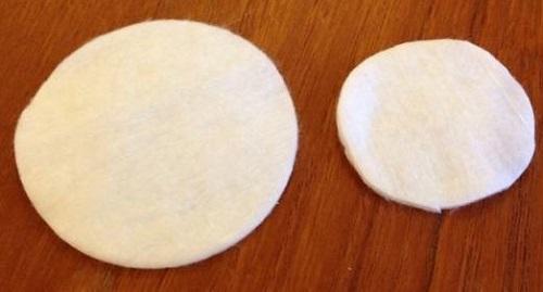 Подготовка ватных дисков