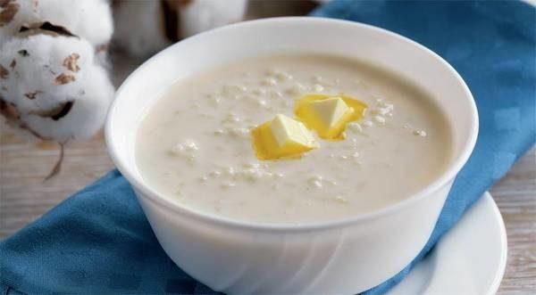 Молочный суп с рисом