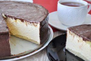 Торт с желатином
