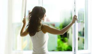 Открытие окна