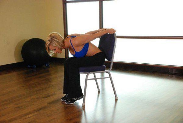 Упражнение для похудения живота