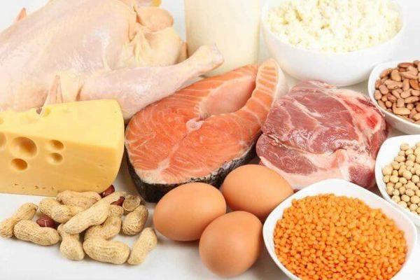 Продукты, содержащие белок