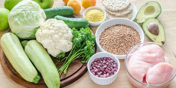 Разрешенные продукты при диете