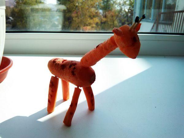 Осенний жираф