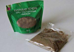 здоровая печень с расторопшей