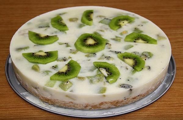 фруктовый десерт с желатином