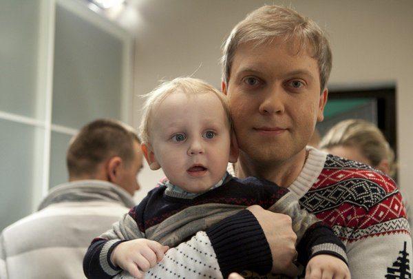 Сергей Светлаков с сыном