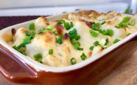 ароматное блюдо под соусом