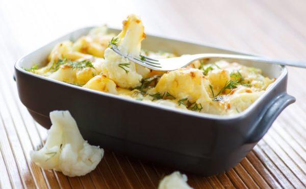овощи под сырной корочкой