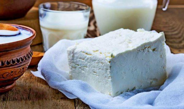 домашний нежный сыр