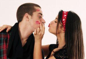 ошибки в поцелуях