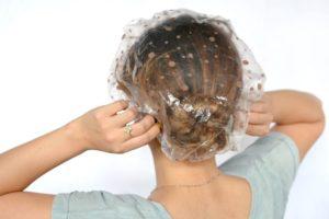 шапочка для волос