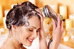 правильное мытье головы