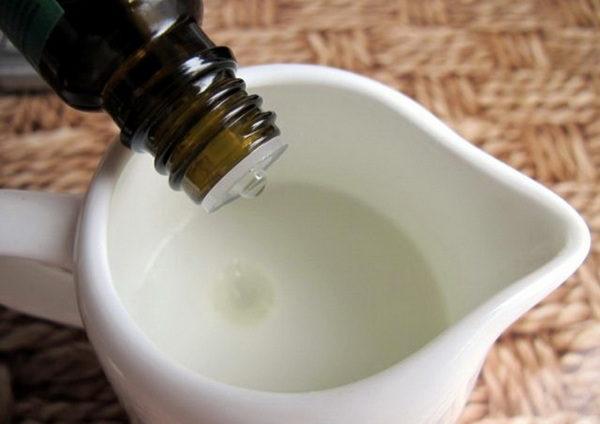 Добавление масла в натуральный крем