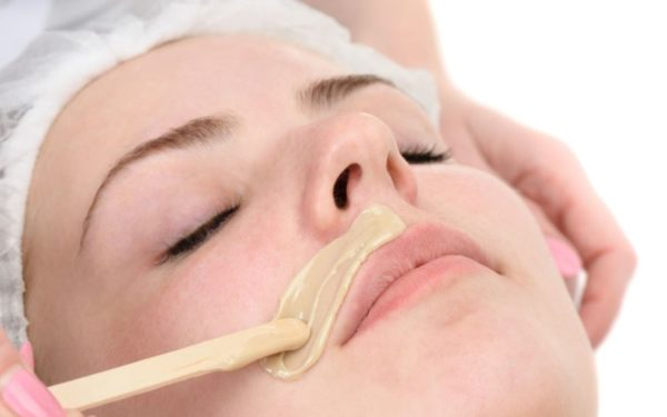 эпиляция волос над губой