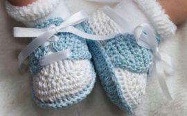 мягкие пинетки для малыша