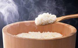 свежесваренный рис