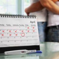 время определения беременности