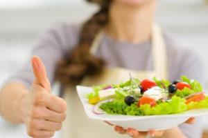 Легкая пища для подготовки к диете