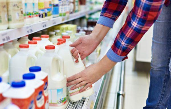 Молоко для приготовления коктейля