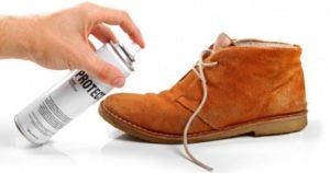 Первичная обработка обуви