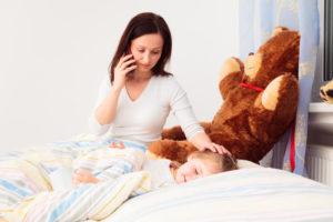 Вызов врача при болезни