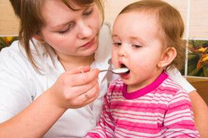 Питание ребенка при герпетической ангине