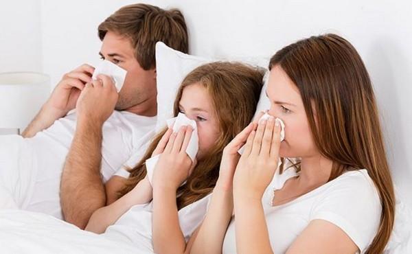 простуда в семье